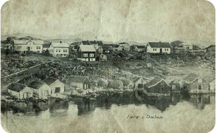 Faeroy postcard